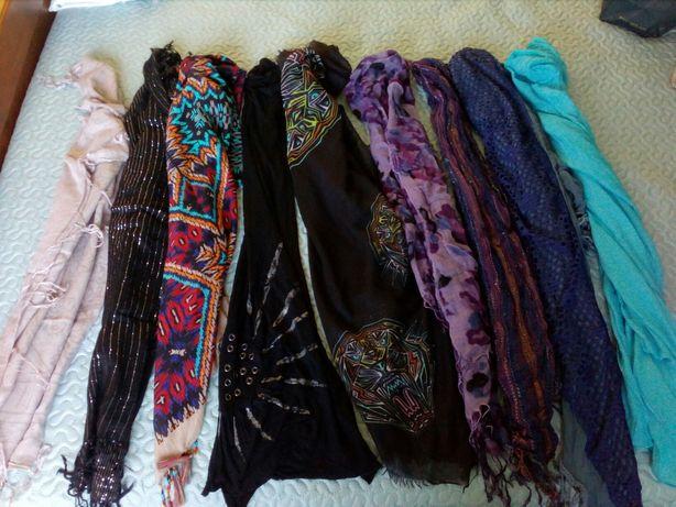 Echarpes, lenços, cachecois