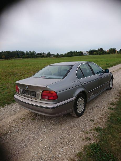 Zderzak tył BMW E39 Aspensilber