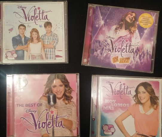 Violetta płyty CD