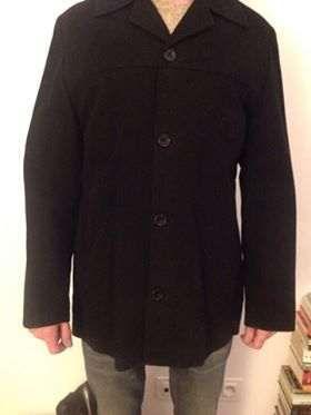 Nowy czarny płaszcz marki NEXT męską, rozmiar M