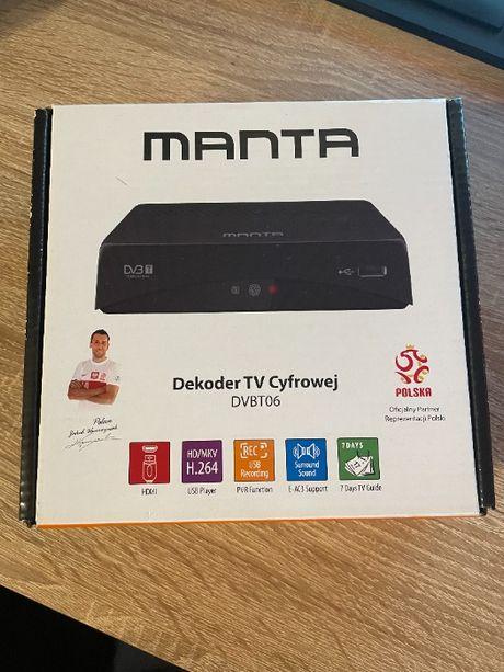 Używany dekoder Dekoder DVB-T Manta z USB