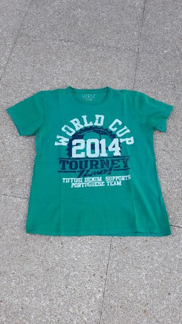 T-Shirt Rapaz tamanho 16 anos marca Tiffosi