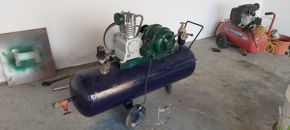 Compressor 150l sem fugas Alcobaça E Vestiaria - imagem 1