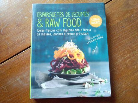 Esparguete de legumes & raw food