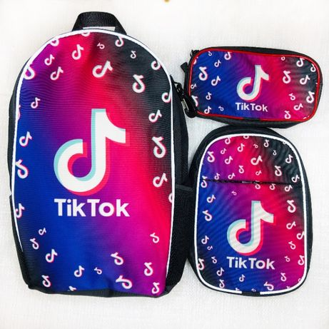 Набор: рюкзак школьный, сумка и пенал Тик Ток Tik Tok - опт и розница