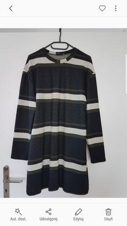 Luźna sukienka zara rozmiar 36 w paski nowa bez metki