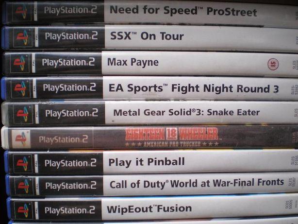 Gry PS2 duuuża kolekcja