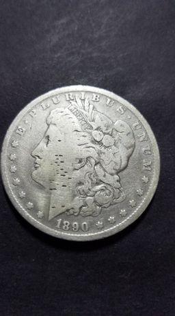 Moeda de 1 Dólar dos Estados Unidos da América 1890