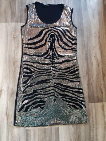 Платье ,сарафан в паетках женское