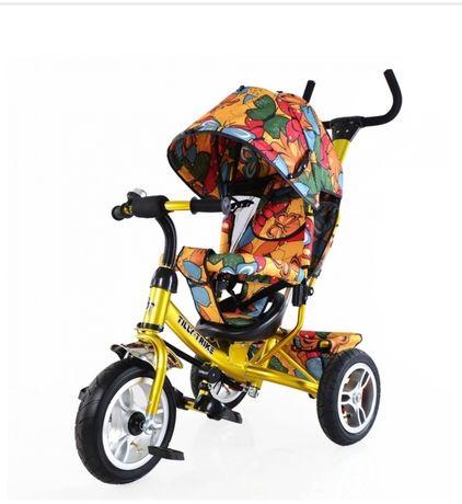Велосипед для принцессы Tilly Trike T-351-7 Gold (T-351-7)