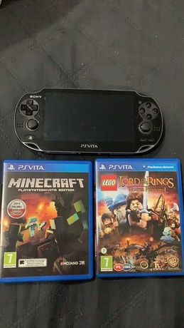 PSP Vita + 2 gry