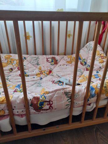 Деревянная кроватка от 0 до 3х лет