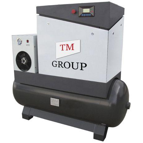 Kompresor śrubowy sprężarka śrubowa 5,5kW 350L
