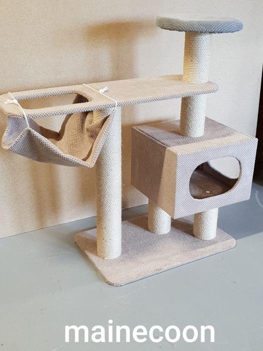 Drapak dla kota duży solidny gruby sznur mainecoon brytyjski Słubice - image 1