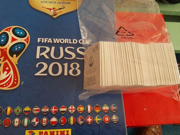 Caderneta mundial russia 2018 todos cromos por colar inclui 8 mcdonald