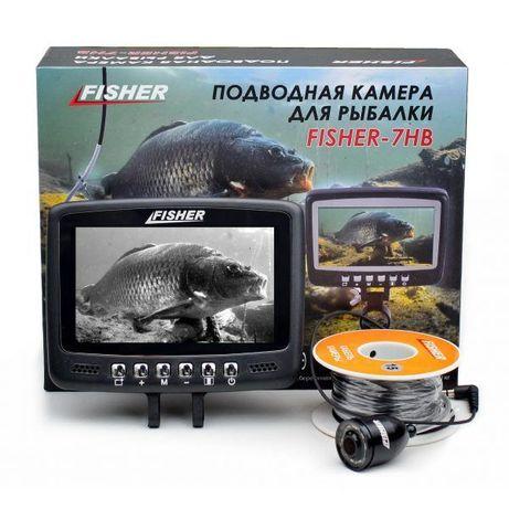 Подводная видеокамера Fisher CR110-7HВ, 15 м, Бесплатная доставка, Гар