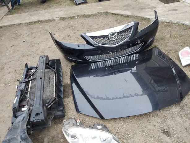 Капот Телевізор Радіатор Мазда 6 / Установочна панель Mazda 6 розборка