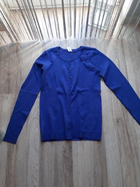 Nowy niebieski rozpinany sweter C&A