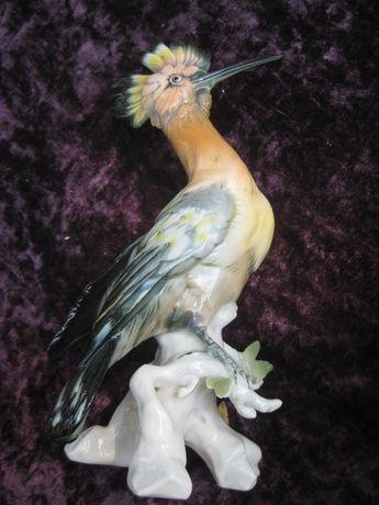 Фарфоровая статуэтка птицы