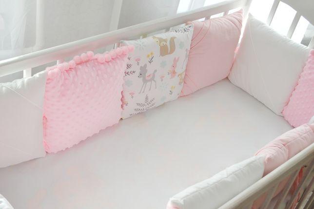 Бортики | Комплект в кроватку для девочки