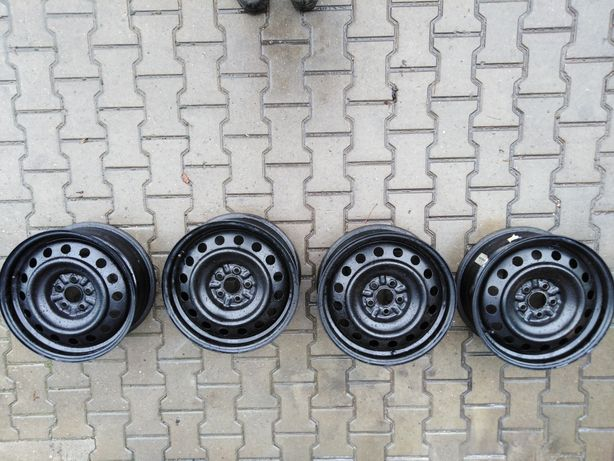 "Subaru felgi stalowe 16"" komplet"