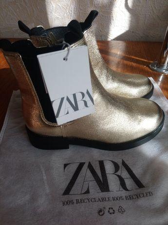 Весняні чобітки Zara для дівчинки