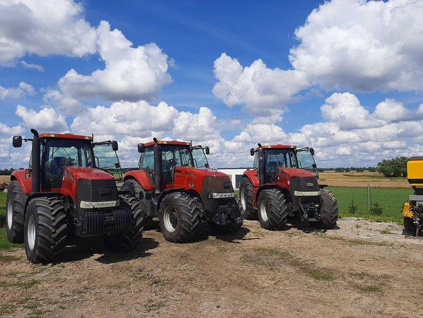 Ciągnik rolniczy wynajem CASE Magnum usługa 310KM Traktor z operatorem