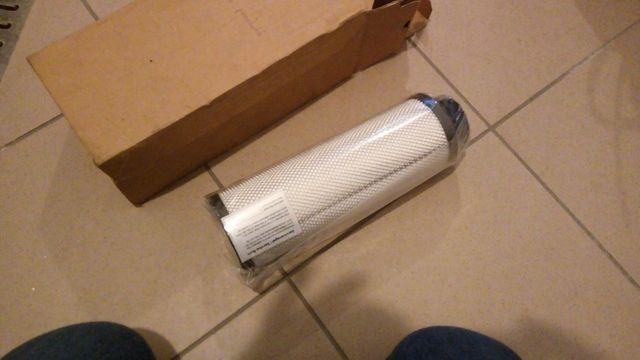 Wkład filtra ERUF10/30XN/0160 D 100 W