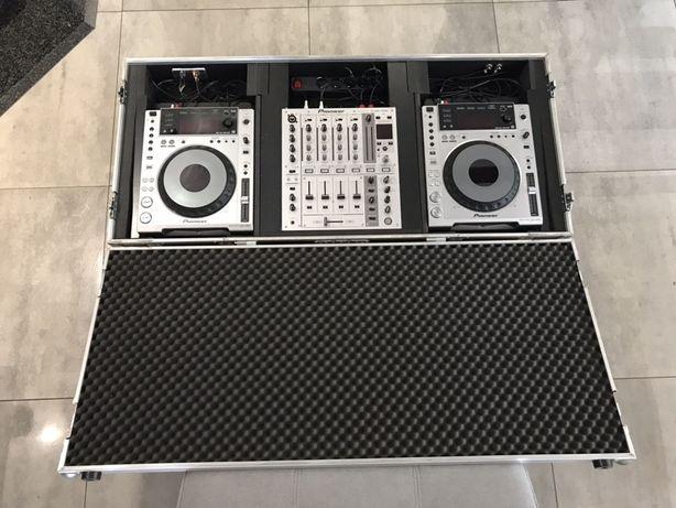 Konsola CDJ 2x850 DJM700 +case gratis