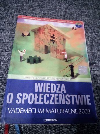 WOS Wiedza o społeczeństwie Operon matura vademecum