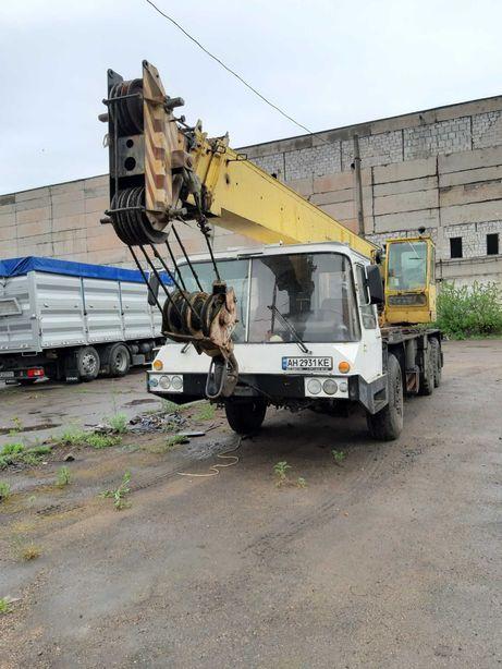 Услуги АвтоКран 10-25 тонн Артемовск(Бахмут) КРАН