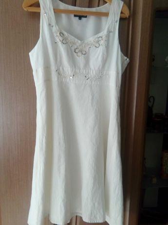 Платье-сарафан на подкладке