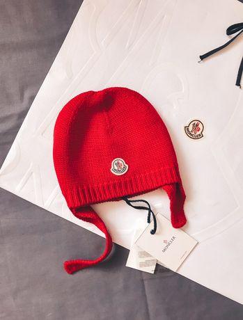 Новая шапка Moncler , оригинал ! монклер blumarine monnalisa dolce