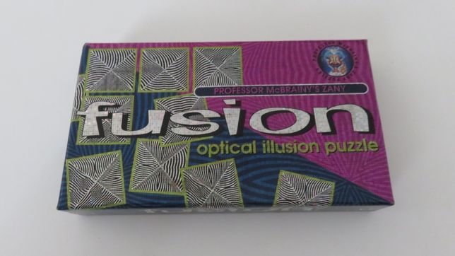 Jogo Fusion Optical Illusion Puzzle