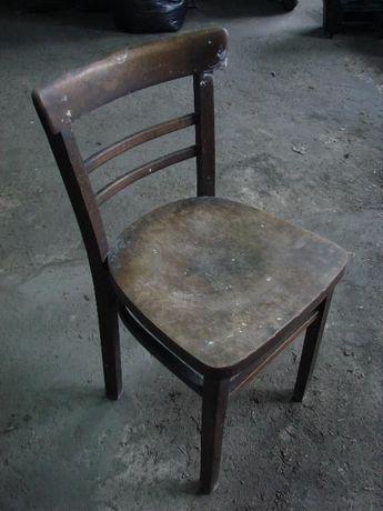 Krzesło drewniane PRL - vintage