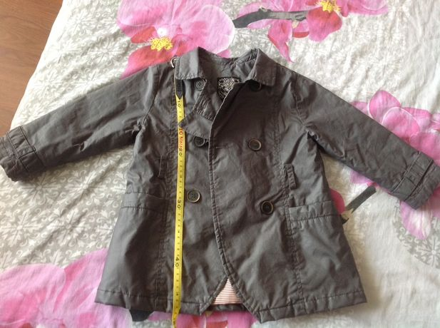 Плащ, плащик, курточка, ветровка Zara baby (94см)