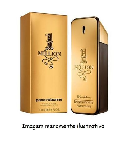Perfume Nº2 100ml - Fragrância One Million Paco Rabanne