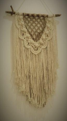 Makrama dekoracja ścienna , rękodzieło, handmade