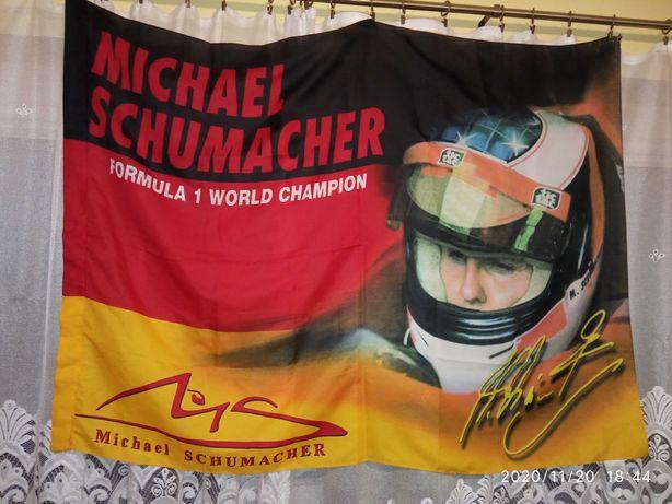 Flaga Michael Schumacher
