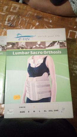Gorset orteza z klamrami piersiowymi klatki piersiowej