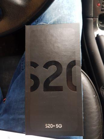 Samsung s20 +5g 128GB czarny nowy gwarancja  12 miesięcy