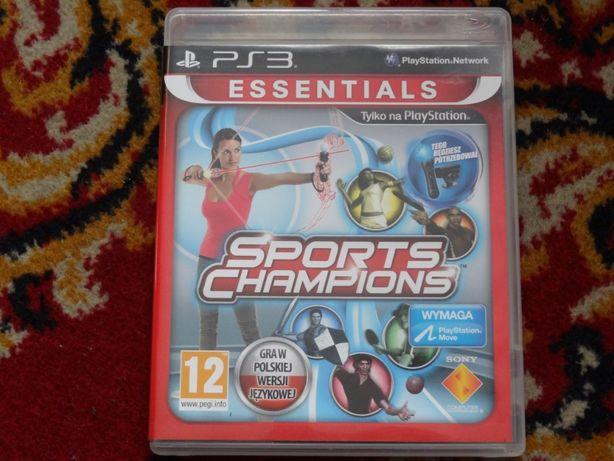 + Sports Champions PL + gra na PS3 Move polska wersja językowa