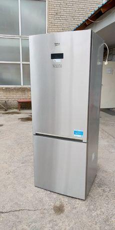 Двухкамерный холодильник Беко Beko ширина 70см А+++ No Frost