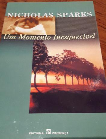 Livro Um Momento Inesquecível - Nicholas Sparks