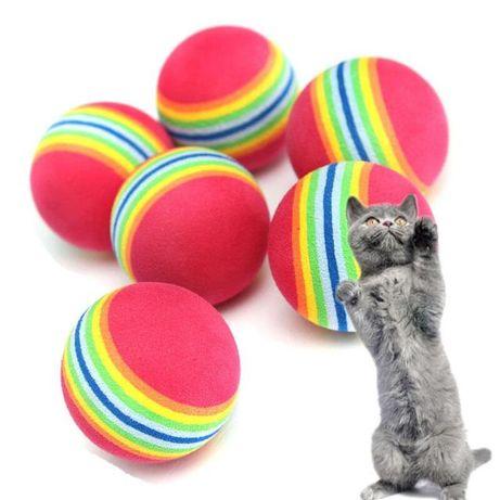 Радужные мячики для котят, 7 шт.