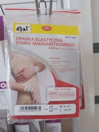 Opaska elastyczna stawu nadgarstkowego Pani Teresa S