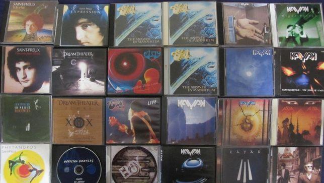 SaintPreux, DreamTheater, ELOY, KAYAK, AZIA на новых CD-R дисках!Украи