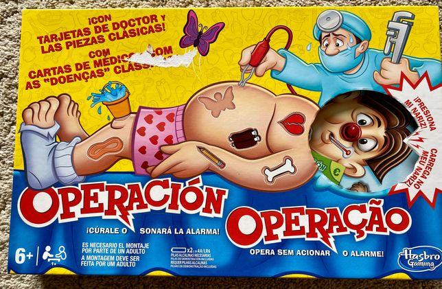 Jogo tabuleiro Operação