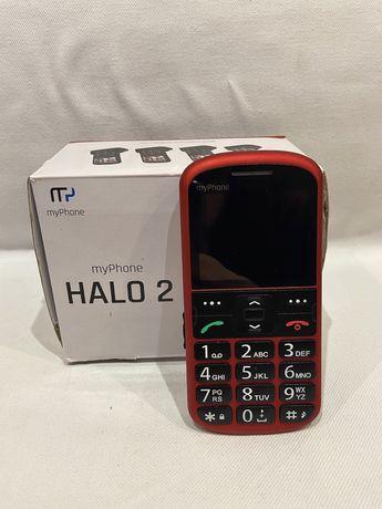 Telefon myPhone Halo 2 czerwony