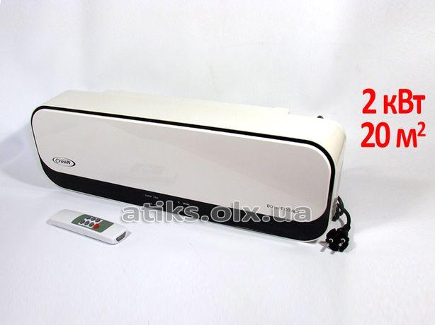 Тепловая завеса Crown 2 кВт с таймером +пульт. Воздушная штора